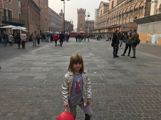 Main square in Ferrara