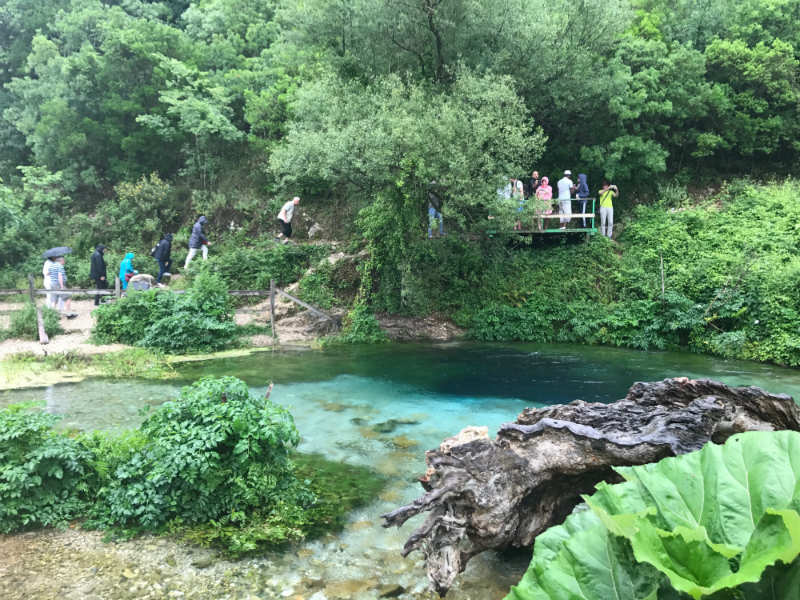 The Blue Eye is one of the most beautiful sights in Southern Albania