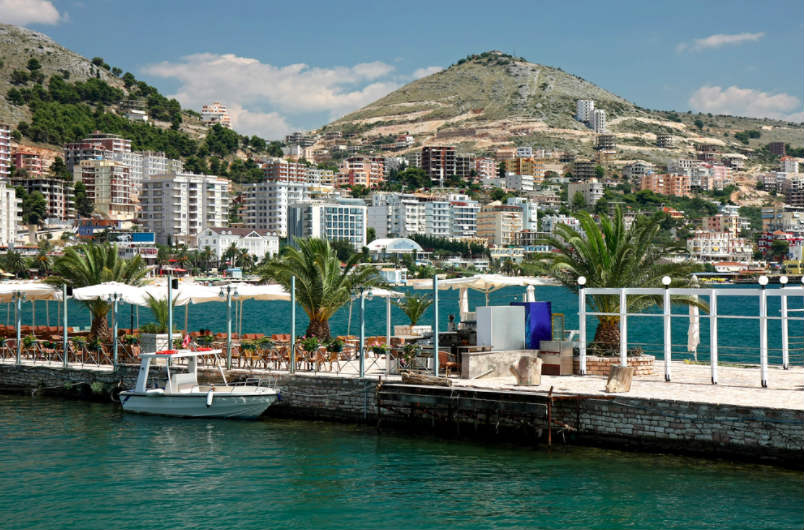Sarande and The Blue Eye