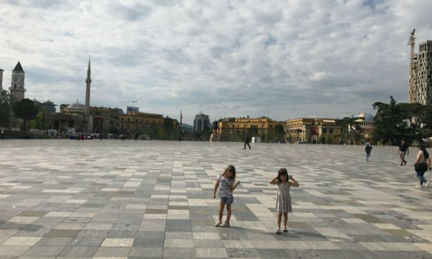 Tirana – the city of bunkers and byrek
