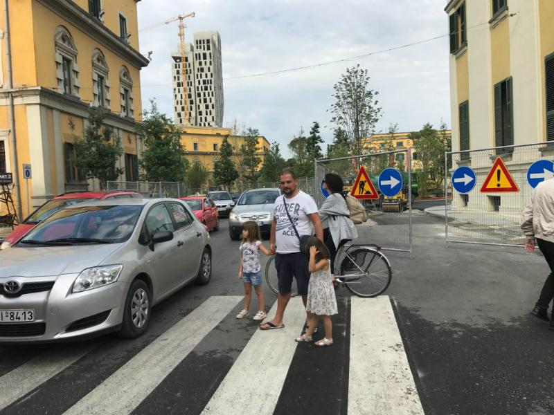 Tirana traffic