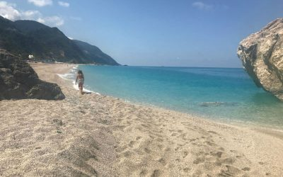 Lefkada – 100 shades of blue