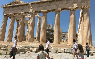 Seven days in Athens with kids