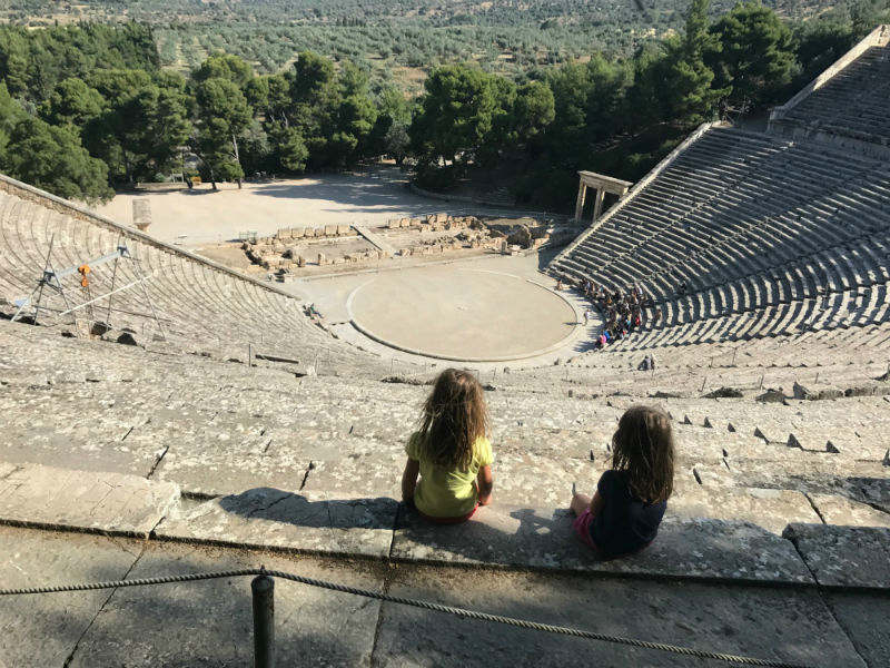 Epidaurus was a small city (polis) in ancient Greec