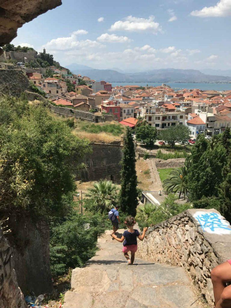 Climb the 999 steps to Palamidi Castle