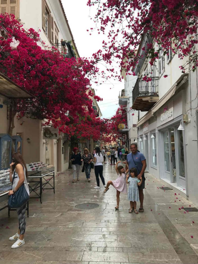Flowers in Nafplion