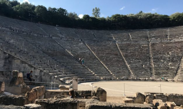Epidaurus – The Most Acoustic Theater