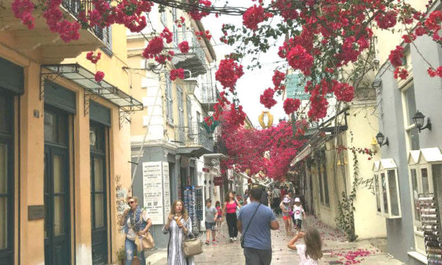Nafplion – a town with romantic mood