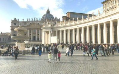 Vatican: The Pope was not at home