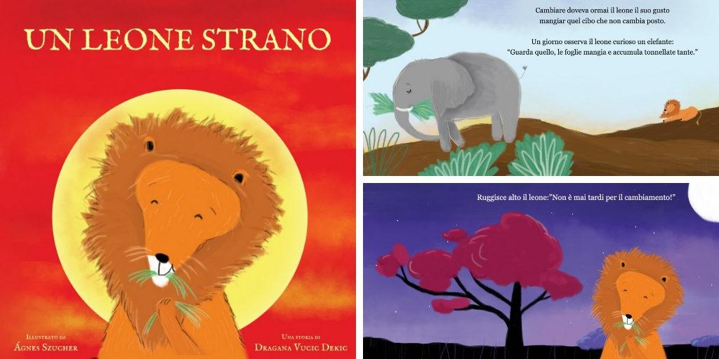 Libri in italiano vegani leone