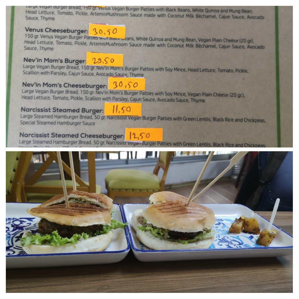 Vegan fast food in Istanbul